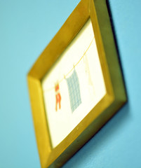 Un-Schrfe (jojo.schmitt) Tags: gold bild unscharf rahmen zeichnung