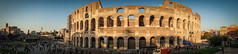 Colosseo (Fret Spider) Tags: travel italy rome roma building monument architecture wonder ancient europe italia pano wideangle landmark visit tourist panoramic structure colosseum latin majestic vignette wander vaction majesty colosseo antiquity ultrawideangle mirrorless canonef24mmf14liiusm sonya7ii