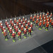 RCMP toy soldiers on the march