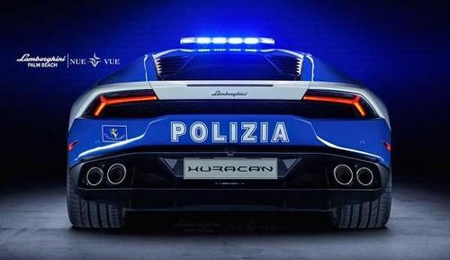 Lamborghini Huracan Polizia Stradale