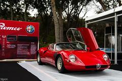 Tipo 33 Stradale (Hilgram Photography) Tags: door cars island italian 33 automotive alfa romeo amelia concours stradale tipo