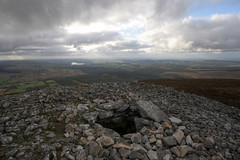 exposed top of Seefin Hill Passage Tomb (backpackphotography) Tags: ireland megalithic ancient prehistoric wicklow hdr cairn megalith passagetomb seefinhill