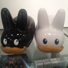 "New from kidrobot Frank Kozik 10"" ""Stache"" labbit avalible online and in the gallery #richardgoodallgallery #labbit #frankkozik (richard goodall gallery) Tags: new from kidrobot frank kozik 10stache labbit avalible online gallery richardgoodallgallery frankkozik"