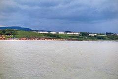Across the bay (nataliegraham3) Tags: chalets beachhuts sea scarborough g1xmark2 g1xmarkii g1xmk2 g1xmkii canon canonpowershotg1xmkii
