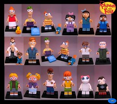 p&f_all (-iacopo / Minifigures / Custom-) Tags: orange green toy lego minifig custom phineas imc 2016 minifigures ferb customminifig phineasandferb