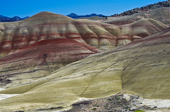 Painted Hills, Oregon (Vicki Dixon) Tags: oregon painted hills paintedhills easternoregon