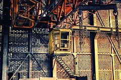 alter Kran (benni_sc) Tags: old duisburg kontrast kran industrie landschaftsparknord hochofen