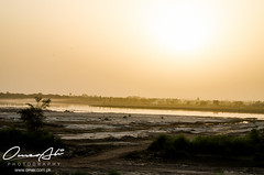 Sunset (ibounce2ounce) Tags: old pakistan light sunset abstract home colors silhouette architecture photography lowlight bokeh dam bridges retro multan