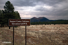 Sunset Crater (Lorencz Photography) Tags: arizona usa southwest history field america volcano lava unitedstates flagstaff cinder volcanology sunsetcratervolcano sanfranciscovolcanicfield