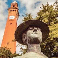 The #Clock #Tower and the #Sculpture at the #University of #Birmingham. @unibirmingham #visitbirmingham #visitbritain #cityscape #City #igers #igersuk #igersbirmingham #potd #photooftheday @birmingham.city @birmingham.life @ilovebrum.info #uk #unitedkingd (atomikkingdom) Tags: square squareformat iphoneography instagramapp uploaded:by=instagram