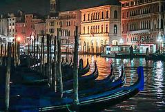 Venice (Renate Flynn) Tags: venice venezia grandcanal gondolas