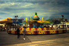 Brighton (4) (johnlawson367) Tags: brighton britain england funfair longexposure palacepier sussex uk amusements sea