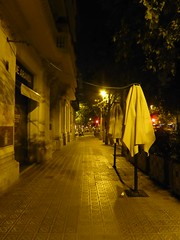 Deserted (stillunusual) Tags: barcelona street travel urban night dark evening vanishingpoint spain bcn perspective streetphotography catalonia catalunya urbanscenery 2016 travelphotography travelphoto travelphotograph