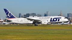 SP-LRE (spotter_spotter) Tags: plane aviation lot poland boeing waw warszawa planespotting 787 okęcie planespotter epwa 788 dreamliner polishairlines splre