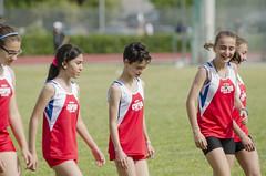 Ingresso delle ragazze per i 60 metri