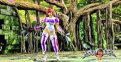 Fanya on SoulcaliburIV2330 (Cliffather) Tags: videogame fightinggame originalcharacter soulcalibur xbox360game