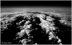 Cloud Nine IV (lukiassaikul) Tags: arealphotography creativephotography photopainting digitalpainting clouds seenfronwindowseat sky monochrome ultrahighcontrast