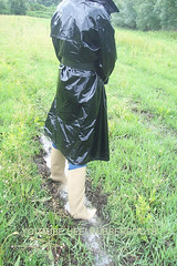 fetish pvc raincoat and rubber boots (heelrubberboots) Tags: woman leather fetish mac shiny dress boots vinyl belts down rubber apron plastic glossy gloves latex gummi raincoat nylon macs rainwear kinky catsuit pvc waterproof jumpsuit botas puffa pu plastique guantes thighboots mackintosh stiefel wetlook sbr regenmantel impermeables lackmantel