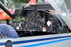 G-CBJR Evektor EV-97A Eurostar (SPRedSteve) Tags: eurostar cockpit shobdon ev97 evektor ev97a gcbjr