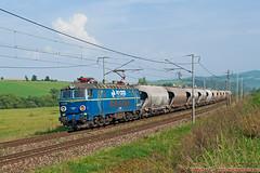 CRW ET22-156, Pn 51580 , Teplika nad Horndom , 15.09.2014 (Michal350) Tags: et22 pkp cargo crw byk teplicka nad hornadom