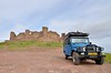Castillo Almonacid de Toledo, near Toledo [Spain] (babakotoeu) Tags: car jeep offroad 4x4 toyota land series 40 landcruiser cruiser troopy bj40 40series bj45