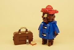 Paddington Bear (Wookieewarrior) Tags: bear brick london station lego paddington build bigfig moc