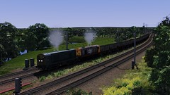 WCML Trent Valley - Coal It What You Will (onelimatwenty) Tags: rail railworks simulator sim train ts2016 ts2015 trainsimulator trentvalley class20 britishrail wcml westcoastmailline coalsector
