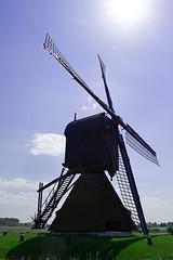 FA_012 (Dutch_Chewbacca) Tags: nature netherlands windmill spring fort sunny dijk brabant 1877 landschap 1880 waterlinie nieuwe 1847 altena brabants hollandse uppel gantel uppelse schanswiel