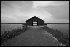 Barn (Arnaud Huc) Tags: sky blackandwhite bw white lake black water beautiful barn contrast nikon eau europe noir noiretblanc sweden lac nb ciel blanc grange siljan sude 1685 d5100 arnaudhuc