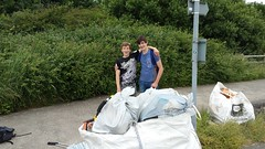 20160623_124235 (Keep Wales Tidy) Tags: bridge summer up coast marine severn clean litter learning monmouth welsh care baccalaureate caldicot rogiet welshcoastalpathcleanup