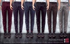[Deadwool] Pleated Pants ([Deadwool] // Masa Plympton) Tags: men pants secondlife deadwool meshclothing masaplympton
