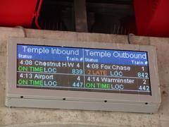 IMG_5048 (jacorbett70) Tags: philadelphia station train temple university septa templeuniversity