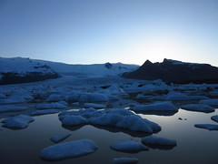 IMG_7072 (NapoleonIsNotDead) Tags: light sunset lake ice water sunshine landscape iceland reflex view secret small lagoon glacier hidden jkulsrln glacial vatnajkull icebarg