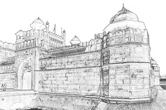 India - Delhi - Red Fort - 107c (asienman) Tags: india delhi redfort asienmanphotography asienmanphotoart mughalresidence