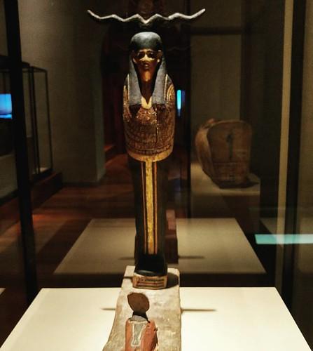 Figura del Dios Ptah-Sokar-Osiris. 26° dinastia. #ptah #osiris #sokar #museonacionaldearqueologia #museoarqueologiconacional #egiptología #madrid #Egipto #spain #españa #spain #diosesegipcios