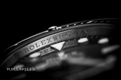 L1001259 (H.M.Lentalk) Tags: leica stilllife white black macro t time watch timepiece r adapter 60mm product rolex submariner zeit 701 typ elmarit leitz uhren