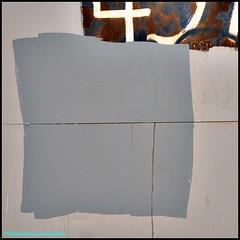 Dave Attempts Modern Art (Beachhead Photography(Is in standby mode)) Tags: abstract art wall grey graffiti paint gray graffitti symbols beachheadphotography