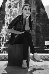 Mara Ins Ochoa, La Rumorosa. (Gerardo Nava Fotografa.) Tags: street light portrait music art beautiful mxico photography 50mm photo retrato sony sigma bn alpha msico fotografa rumorosa 2016 sonyalpha sigmaart sonyflickraward a77ii sonya77ii sonymxico