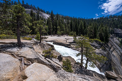 The top of Nevada Fall (josefrancisco.salgado) Tags: california usa ro river us waterfall nikon unitedstatesofamerica yosemitenationalpark nikkor catarata d5 cascada mercedriver vernalfall 1424mmf28g