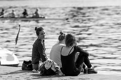 Prague ((Do.Sebe)) Tags: city blackandwhite river relax czech prague praha vltava beautifulday capitolcity citiesplaces beatifulcity