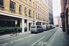 Mitre Street (goodfella2459) Tags: street city colour london history film analog 35mm lens jack nikon edward crime catherine 24mm af nikkor 50 mitre whitechapel milf f4 watkins ripper c41 f28d eddowes cinestill
