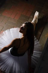 by Corey Price (priceisright2293) Tags: portrait ballet paul dance model nikon ballerina shoes c einstein 85mm dancer buff pointe pancake nikkor tutu leotard strobes d600 14g strobist
