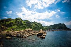GTJ-2016-0630-7 (goteamjosh) Tags: ocean mountain landscape  taiwan erosion pacificocean    nanya northcoast rockformation northeastcoast   nanyapeculiarrocks newtaipei nanyarockformation   newtaipeicity