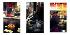 Srie du 09 06 16 : Night in Bruges (basse def) Tags: coffee bike night belgium bruges