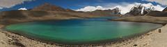 Himalayan turquoise (siddarth.machado) Tags: blue panorama india turquoise east trans himalayas highaltitude northsikkim colddesert lakegurudongmar