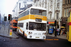 Stuart, Hyde 109 (LRJ 213P) (SelmerOrSelnec) Tags: bus manchester piccadilly stuart hyde 209 roe mayne leyland fleetline lrj213p