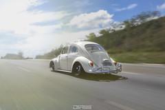 Beetle on the road (De Gregoriis Videomaker) Tags: beetle fusca sadan vw oldschool ontheroad aircooled air