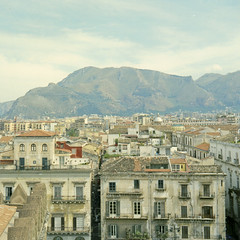 Sicilia 2016 - Palermo (www.razzolapis.it) Tags: ektar100 palermo cefal cattedrale panorama citt cityscape sicilia sicily