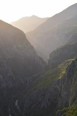 Haze (Milos Golubovic) Tags: sunset summer evening haze nikon warm serbia gorge nis srbija 55200mm sicevo d7100