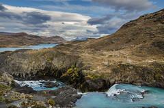 Salto Grande II (Andrs Photos 2) Tags: chile patagonia torresdelpaine magallanes sudamerica cielos sky pampa nubes cloud